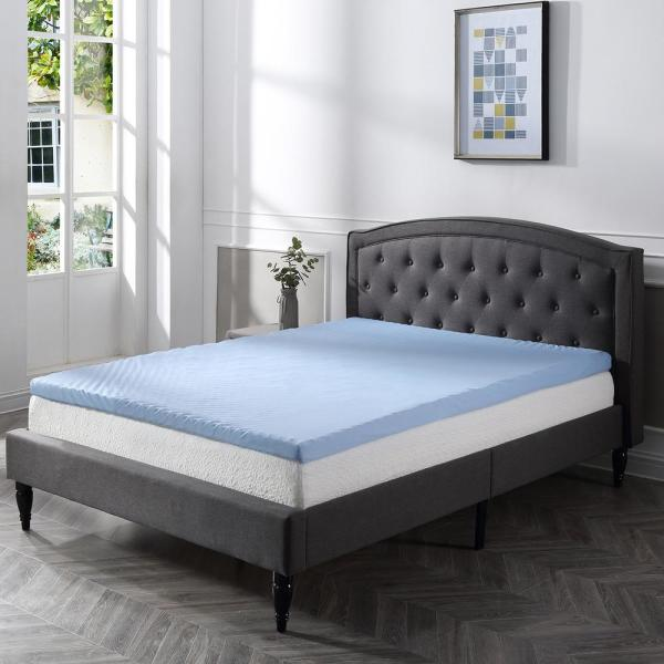 Twin XL Classic Brands 3-Inch Cool Cloud Gel Memory Foam Mattress Topper With Free Cover
