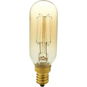 40-Watt T8 E12 Candelabra Base Vintage Amber Incandescent Light Bulb