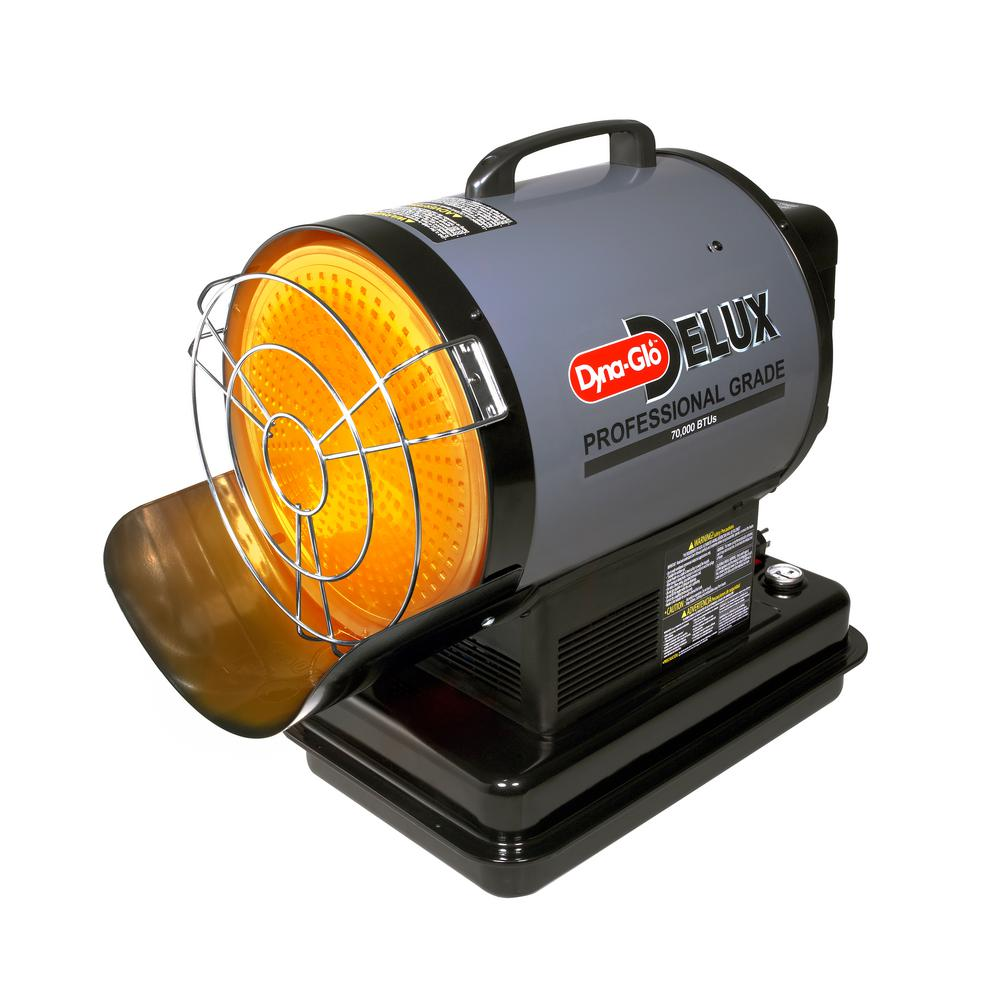 Dyna-Glo 70K BTU Kerosene Radiant Forced Air Heater-SF70DGD - The ...