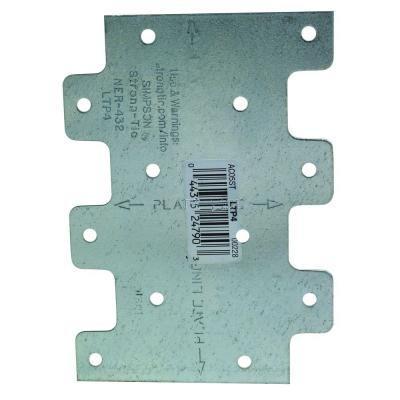LTP 3 in. x 4-1/4 in. Galvanized Lateral Tie Plate
