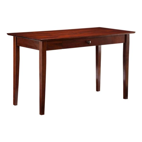 Atlantic Furniture Shaker Walnut Desk with Drawer