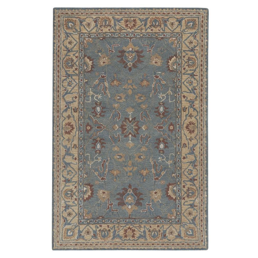 Home decorators collection jaipur blue 2 ft x 3 ft area for Home decorators rugs blue