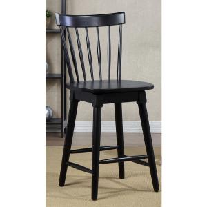 Peachy Craft Main Elise 24 In Black Counter Height Swivel Bar Bralicious Painted Fabric Chair Ideas Braliciousco