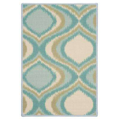 Empire Blue 2 ft. x 3 ft. Accent Rug
