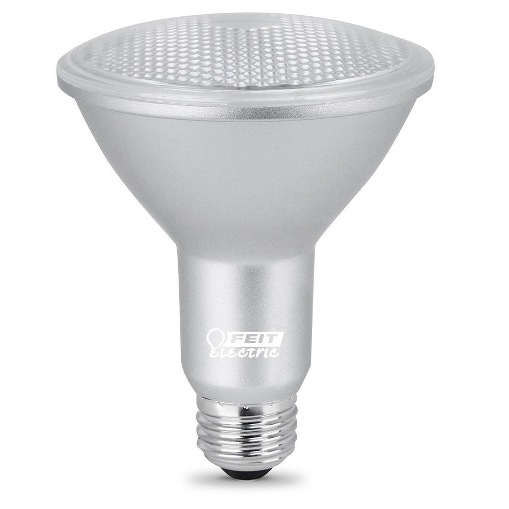 75-Watt Equivalent PAR30 Dimmable CEC Title 24 Compliant LED ENERGY STAR 90+ CRI Flood Light Bulb Bright White (24-Pack)