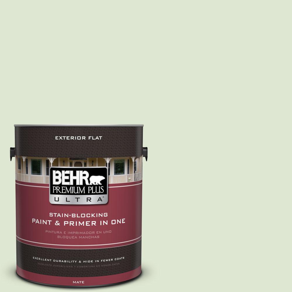 BEHR Premium Plus Ultra 1-gal. #M370-2 Cabbage Leaf Flat Exterior Paint