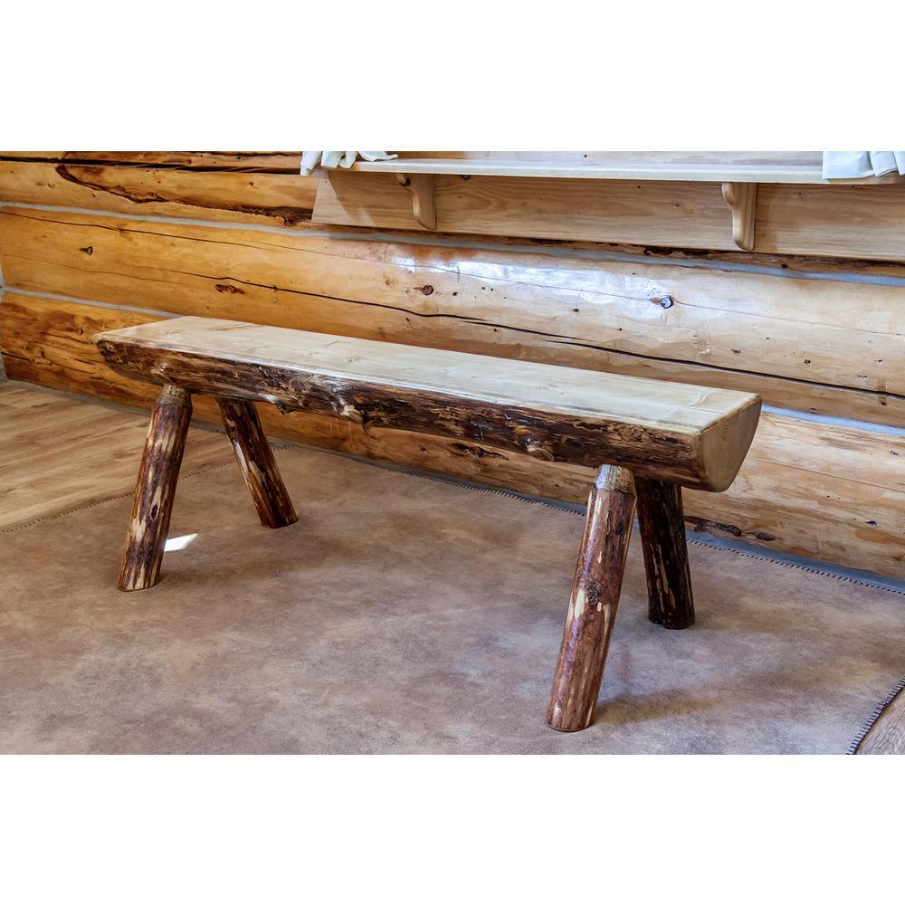 Montana Glacier Country Puritan Pine Bench
