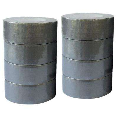 1.89 in. x 60 yd. Utility Grade Duct Tape Silver Contractors Pack (8-Pack)