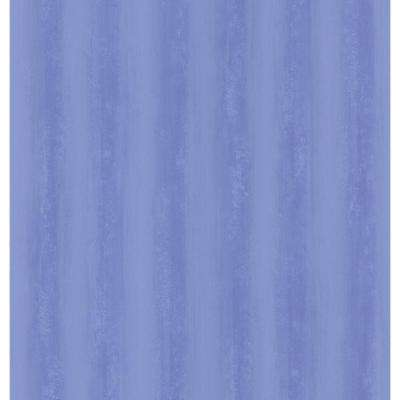 Destinations by the Shore Blue Brushy Stripe Wallpaper Sample