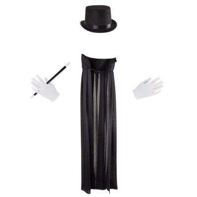 Kids Magician Costume Dress-Up Outfit Set