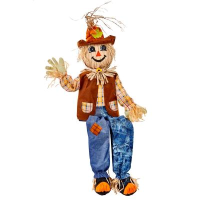 60 in. Sitting Scarecrow