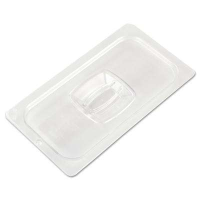 1/3 Size Cold Food Pan Cover with Peg Hole