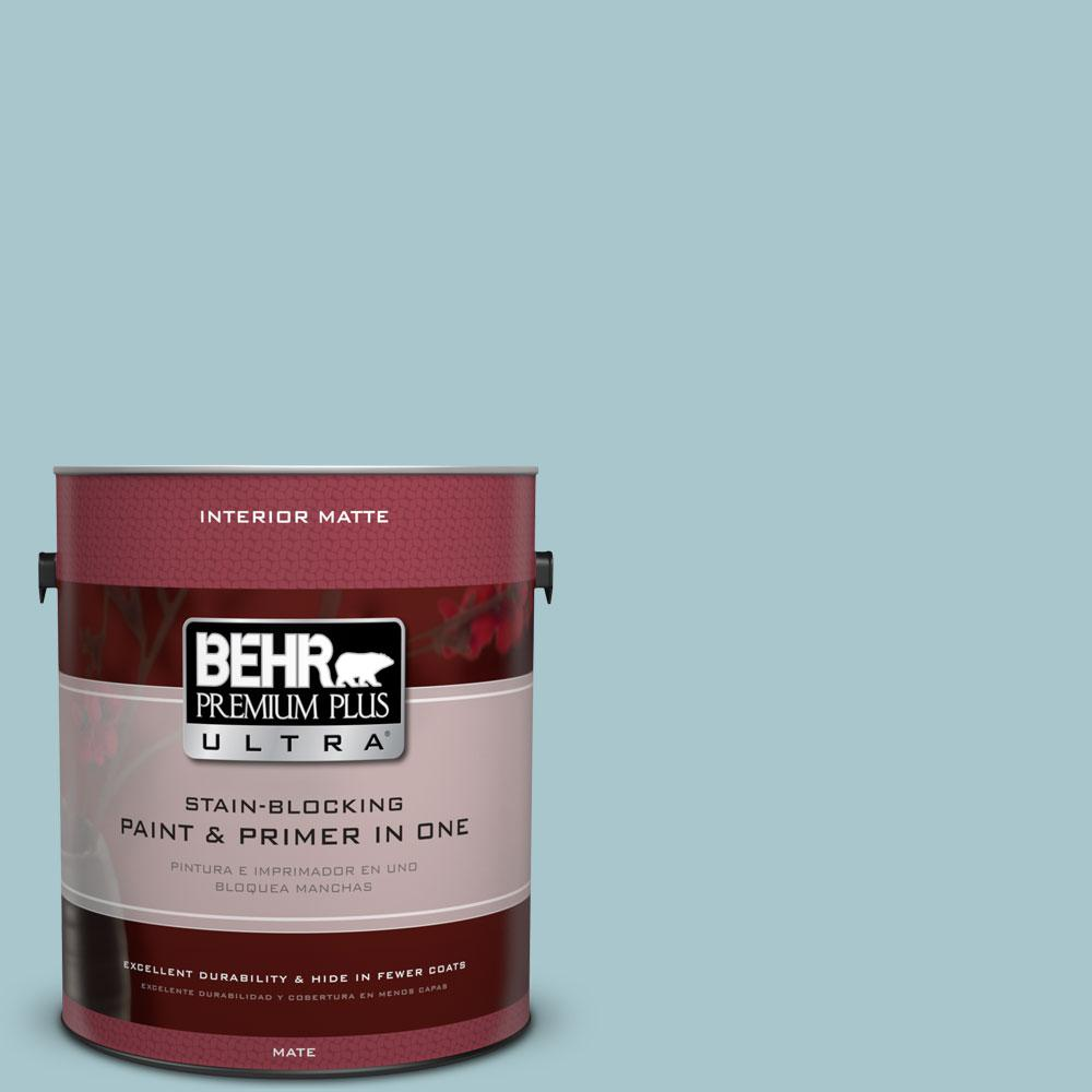 1 gal. #S450-3 Spring Storm Matte Interior Paint