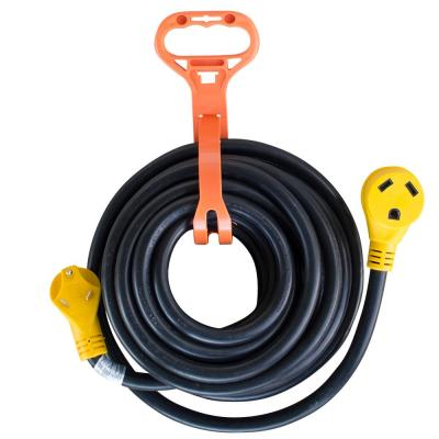 25 ft. 125 Volt 30 Amp RV Camper Extension Cord