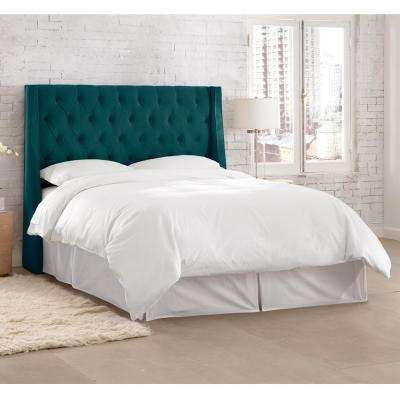 Willow Blue King Headboard. Blue   Beds   Headboards   Bedroom Furniture   The Home Depot