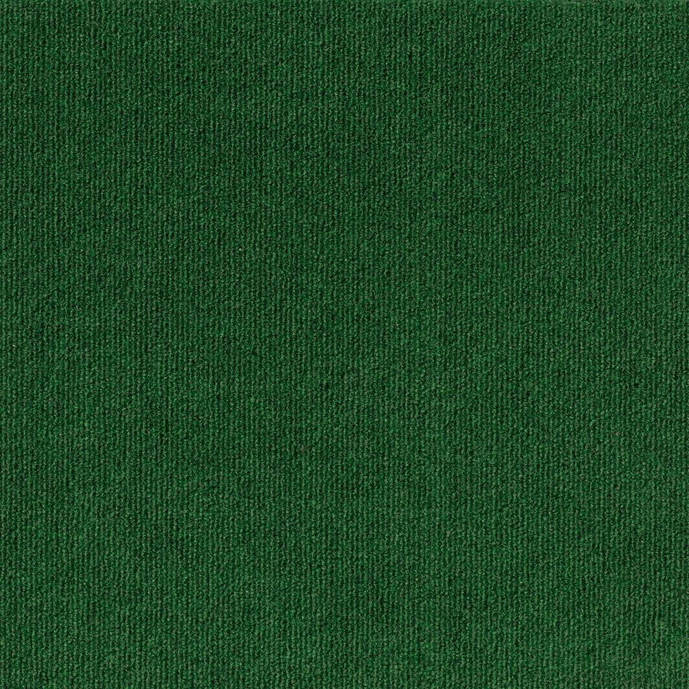 Trafficmaster Elevations Color Leaf Green Ribbed Texture Indoor Outdoor 12 Ft Carpet 7pd5n620144h The Home Depot