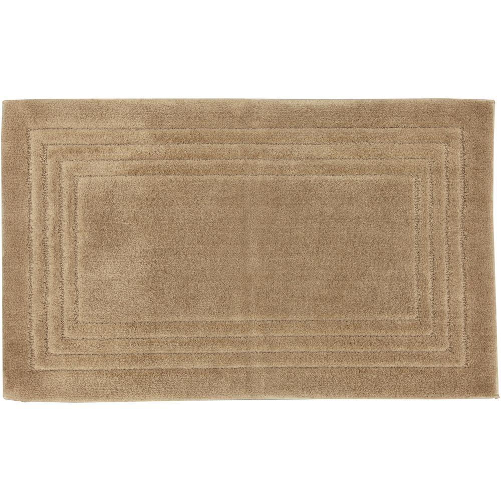 Mohawk Driftwood 24 in. x 40 in. Bath Mat-DISCONTINUED
