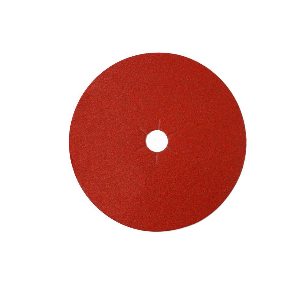 7 in. 24-Grit Edger Disc (10-Pack)