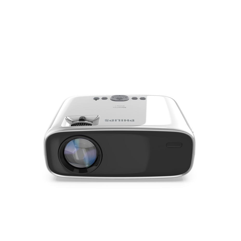 NPX440/INT, NeoPix Easy, Mini Projector, 80 in. Display, Built-in Media Player, HDMI, USB, microSD