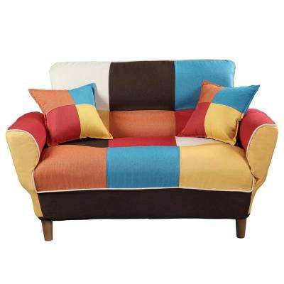 Chic Full Color Sleeper Sofa Loveseat with Twin Size