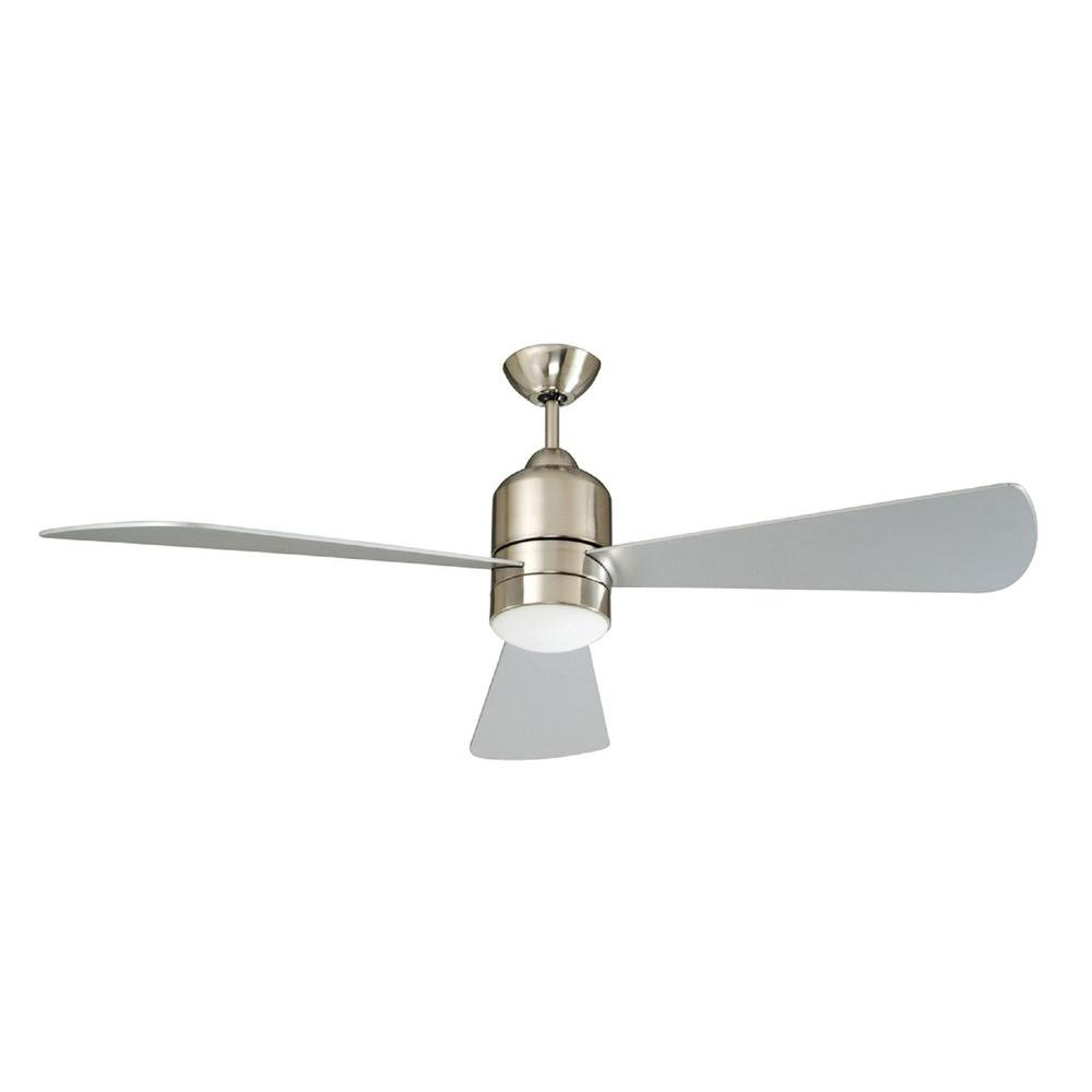 Concord Fans Decca 60 In Indoor Stainless Steel Ceiling Fan