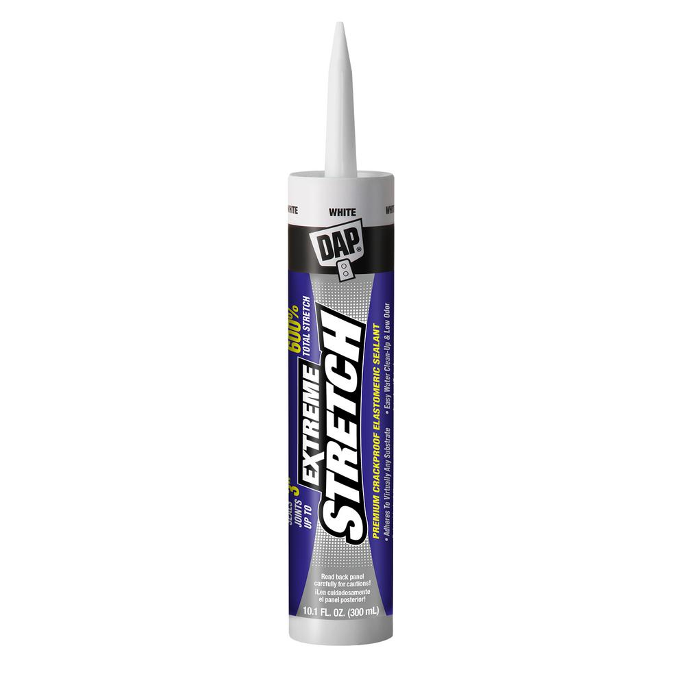 DAP Extreme Stretch 10.1 oz. White Premium Crackproof Elastomeric Sealant