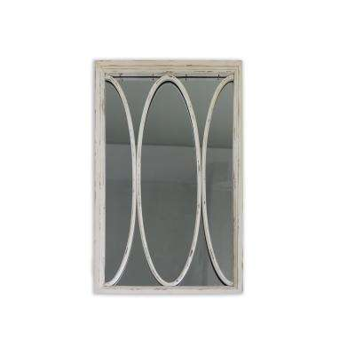 Opal 36in Distressed Wall Mirror