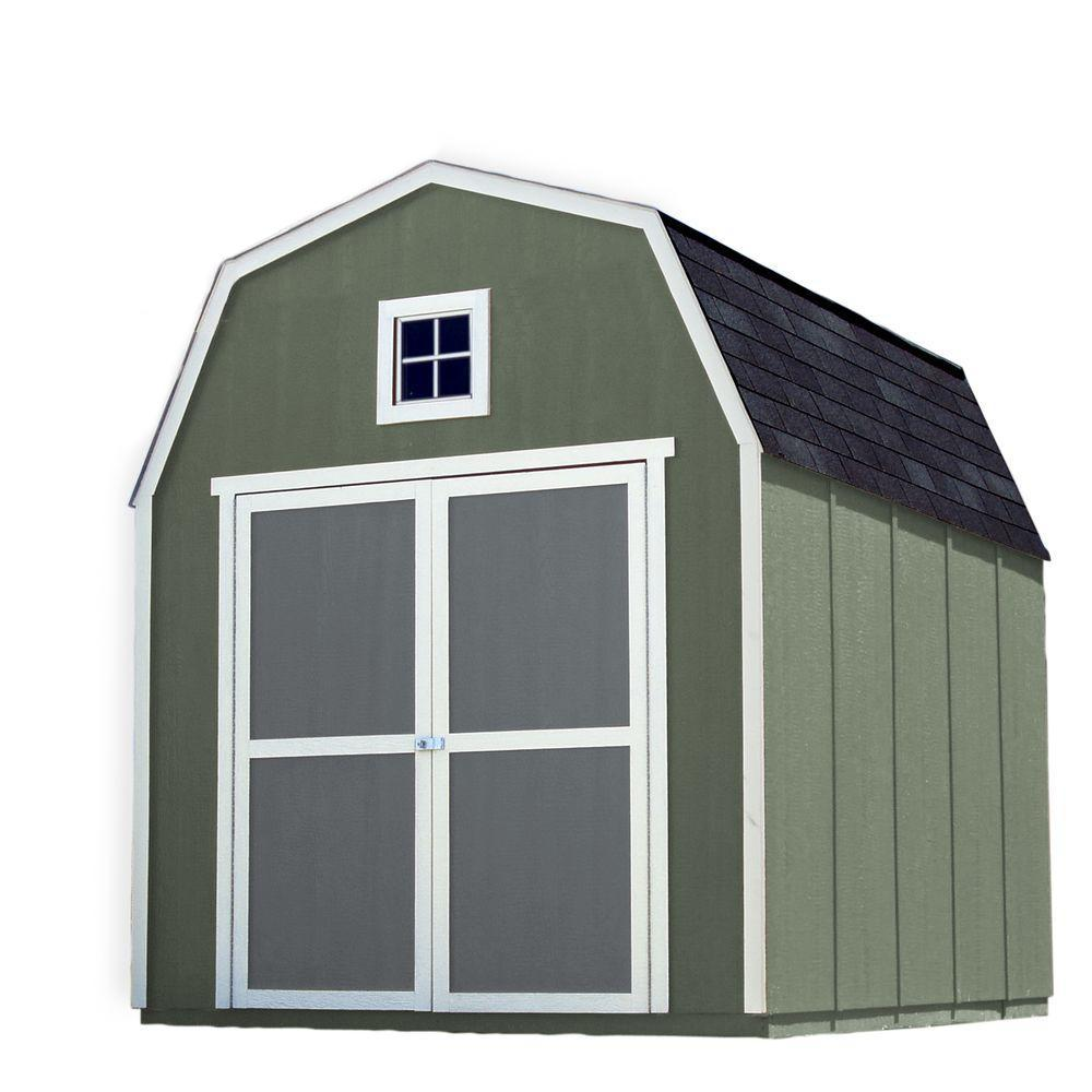loft wood sheds sheds the home depot