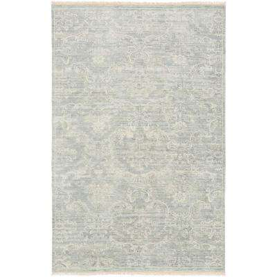 Maurya Medium Gray 2 ft. x 3 ft. Area Rug