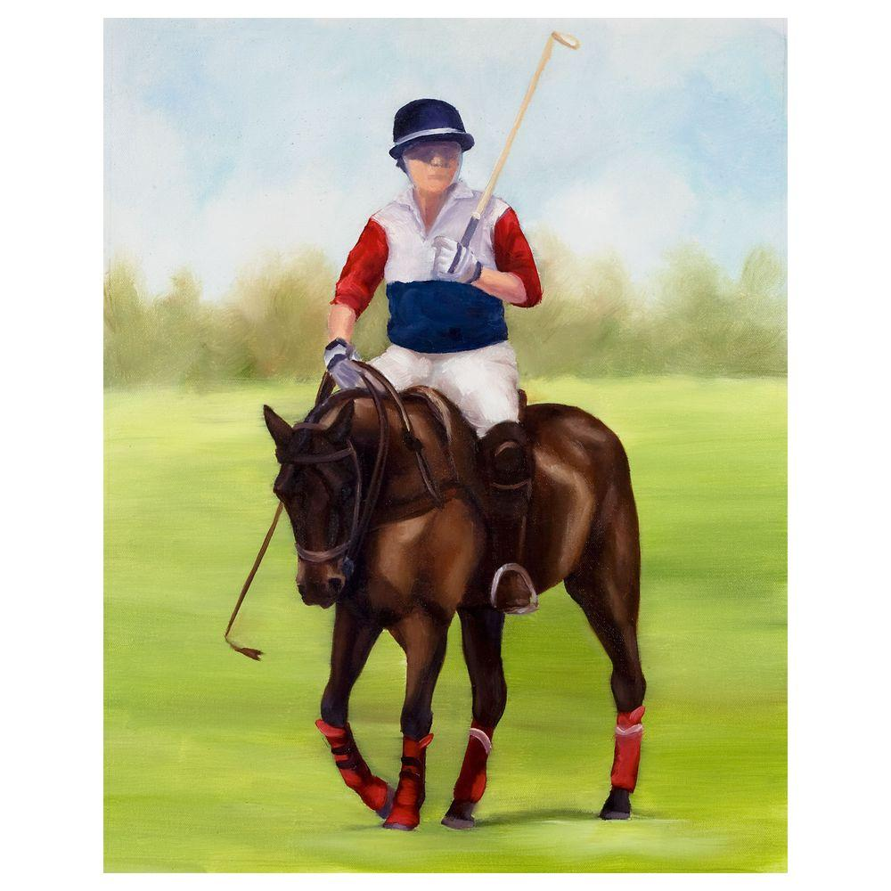 Trademark Fine Art 18 in. x 24 in. Horse of Sport VIII Canvas Art