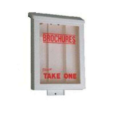 High Impact Plastic Brochure Holders for 8-1/2 x 11 in. Flyers