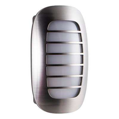 CoverLite Auto LED Night Light in Brushed Nickel