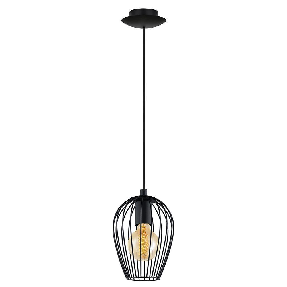 Strathclyde 1-Light Matte Black Pendant