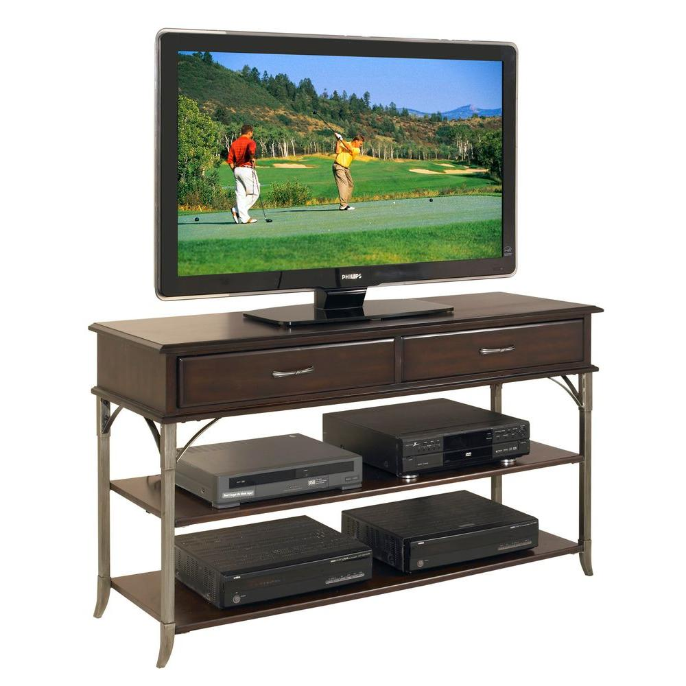 Home Styles Bordeaux Espresso Media TV Stand