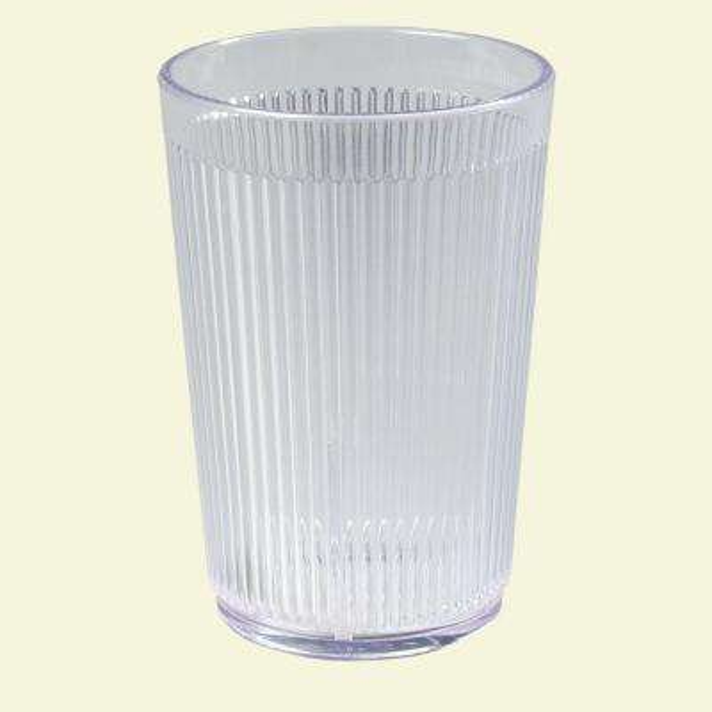 Carlisle 9.5 oz. SAN Plastic Tumbler in Clear (Case of 48) by Plastic Tumblers