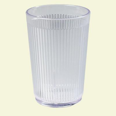 9.5 oz. SAN Plastic Tumbler in Clear (Case of 48)