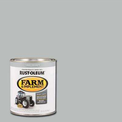 1-qt. Farm and Implement Gray Primer Paint (Case of 2)