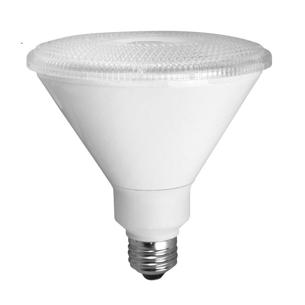 TCP 90W Equivalent Bright White (3000K) PAR38 Elite Designer Series LED Flood Light Bulb