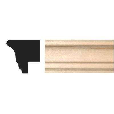 3/4 in. x 3/4 in. x 96 in. Hardwood Picture Frame Moulding