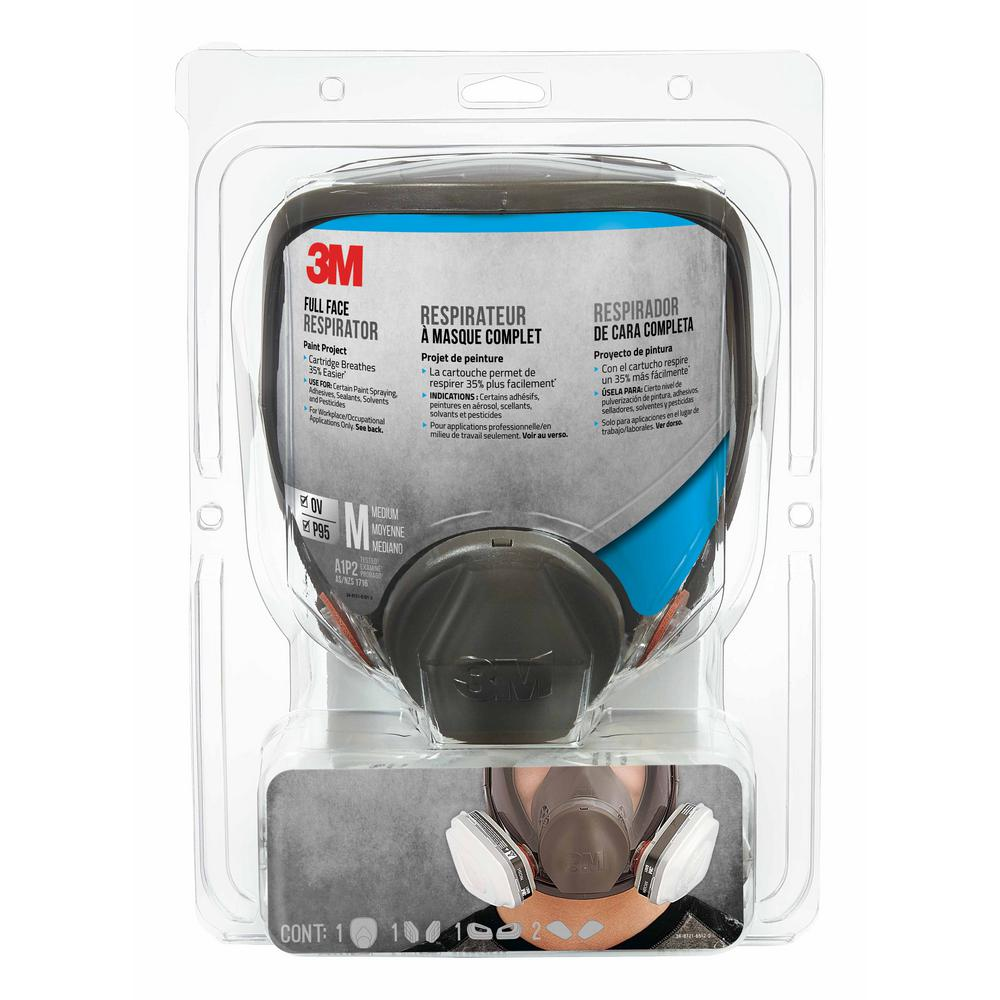 3m P100 Medium Mold And Lead Paint Removal Respirator Mask Case Of 4