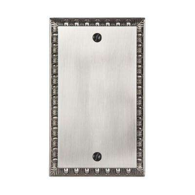 Renaissance 1 Blank Wall Plate - Antique Nickel