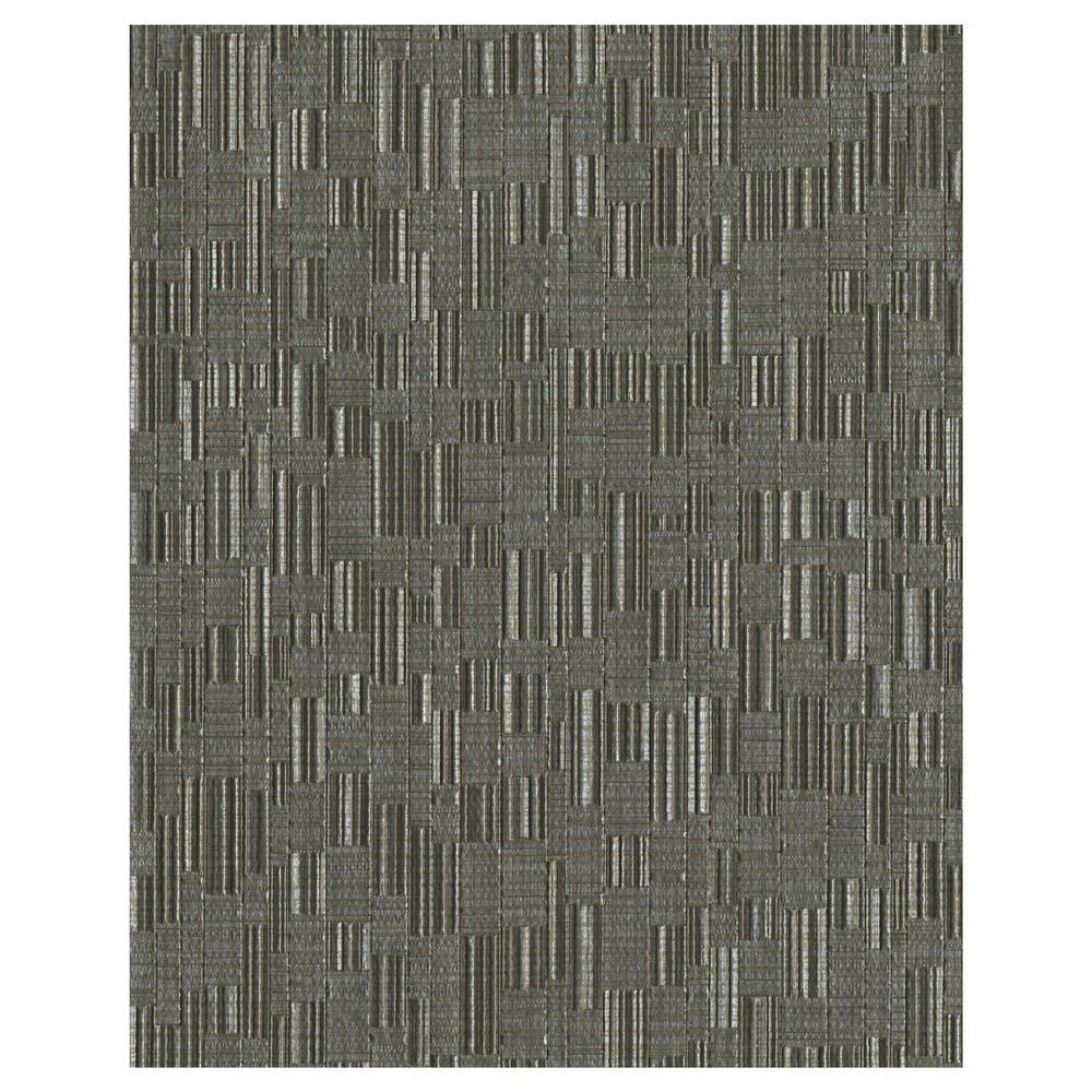 York Wallcoverings 60.8 sq. ft. Mosaic Weave Wallpaper