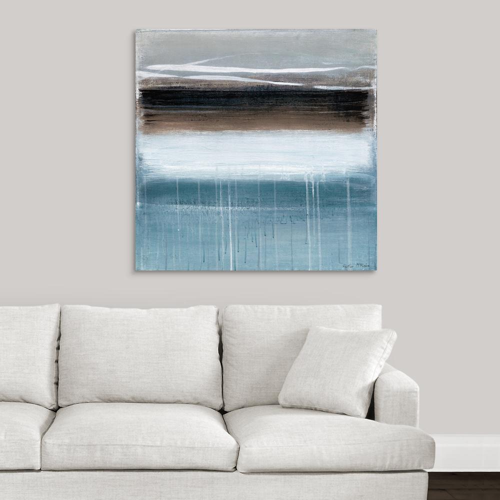 GreatBigCanvas ''Landscape Memory I'' by Heather McAlpine Canvas Wall Art
