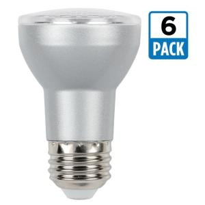 45w equivalent cool white par16 dimmable led flood light bulb 6pack - Flood Light Bulbs