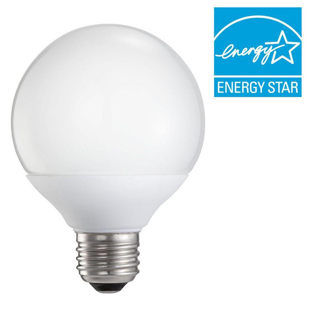 75W Equivalent Soft White (2700K) G40 CFL Light Bulb (E*)