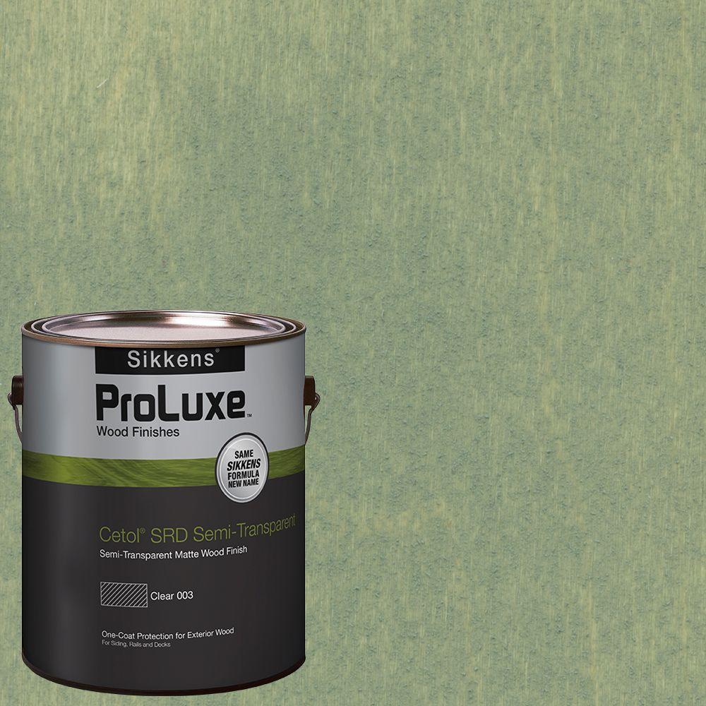 #HDGSRD-ST-408 Woodland Green Cetol SRD Semi-Transparent Exterior Wood Finish