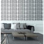 Mitchell Black Nomad Collection Tasmanian Beach in Black and White Premium Matte Wallpaper