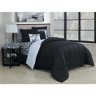 Leaves 9-Piece Queen Bed in a Bag