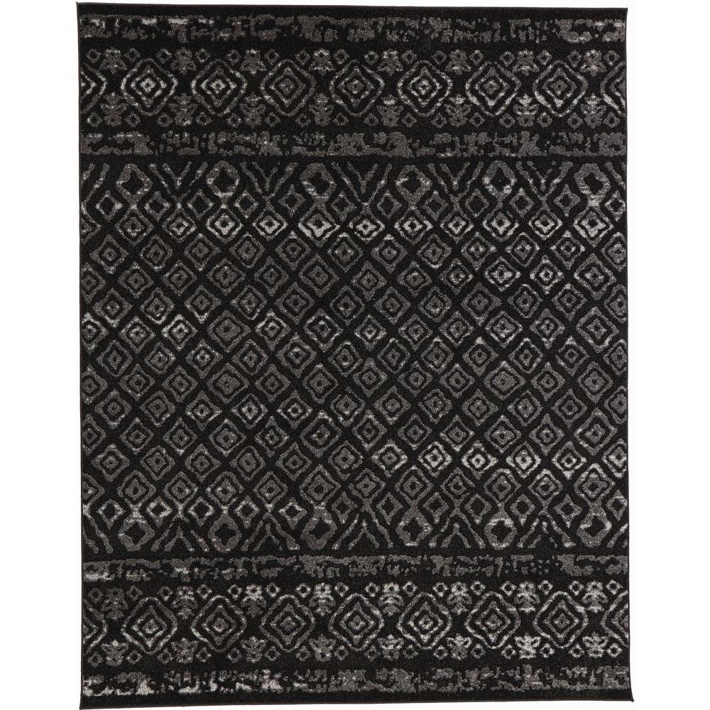Tribal Essence Black 5 ft. 3 in. x 7 ft. 3