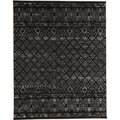 Tribal Essence Black 5 ft. x 7 ft. Area Rug